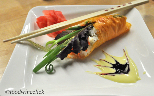 Sushi Unrolled at Kitchen in the Market | foodwineclick