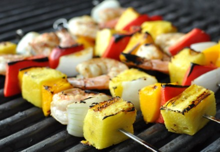 Pineapple on the grill - fantastic!