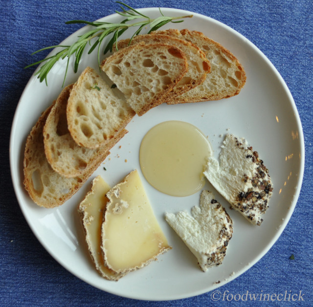 Lovetree Farms cheese plate