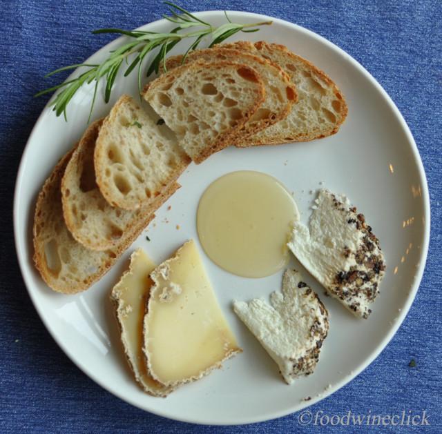 Lovetree Farms cheese plate