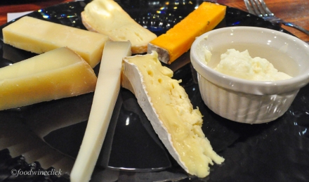 Our assignment for the night - eat these cheeses