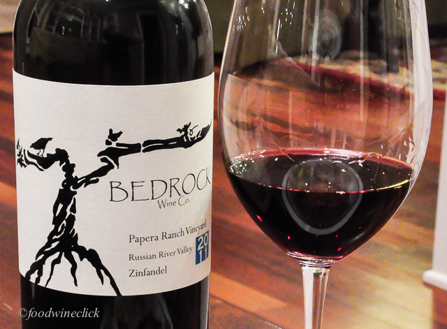 The Bedrock Papera Ranch Zinfandel is lean, light and trim; not your usual Zin.