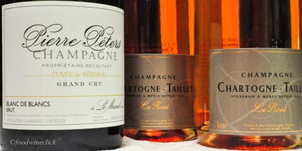 My Champagne picks for the evening.