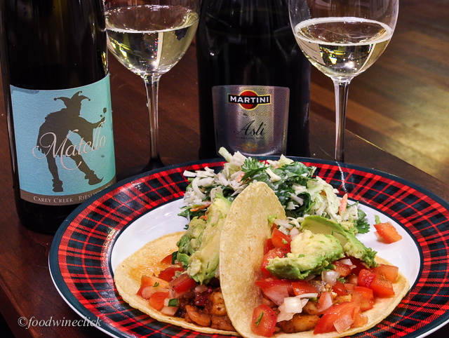 Sweet wines for spicy fish tacos