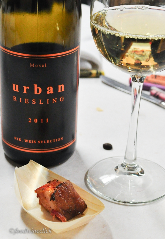 Pork Belly and Kabinett Riesling - yum.