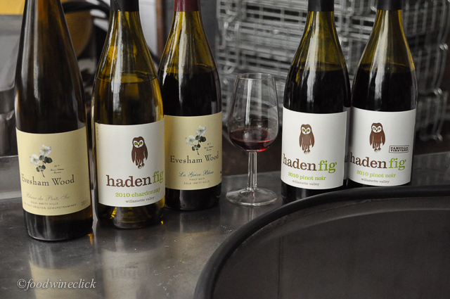 Our tasting lineup