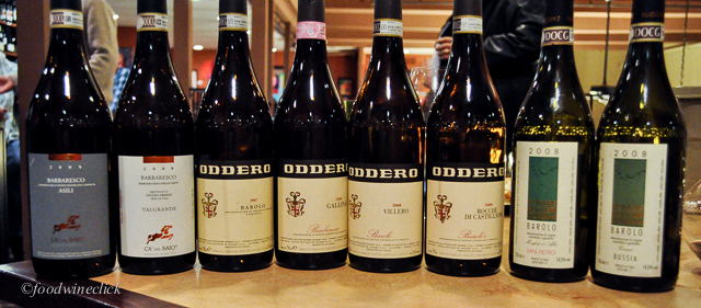 3 wineries, 8 total wines, all Barbaresco & Barolo. Wow!