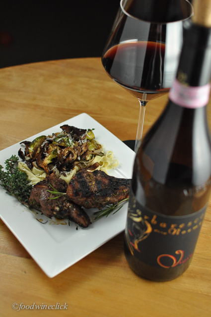The short answer: goat chops & Barbaresco - yes!