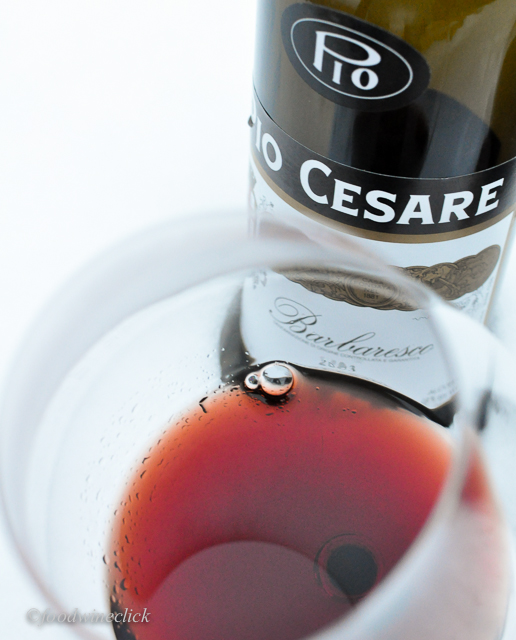 Pio Cesare Barbaresco 2003 aged beautifully