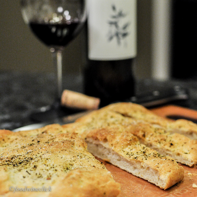 Nice wine and fresh bread transform leftovers into a real treat.