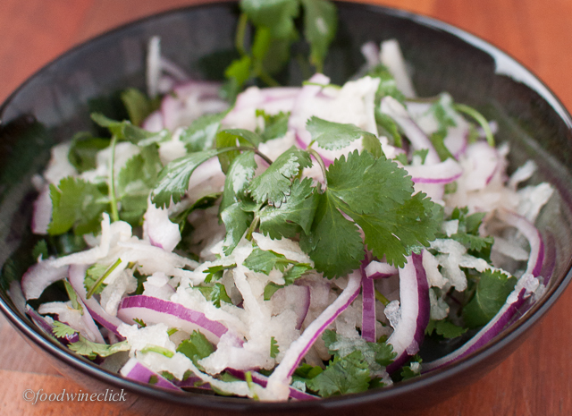 Asian pear makes a wonderful slaw.
