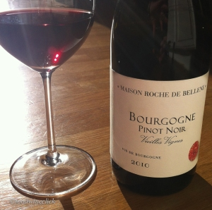 Bourgogne Rouge with Pinot Noir listed to make it easy!