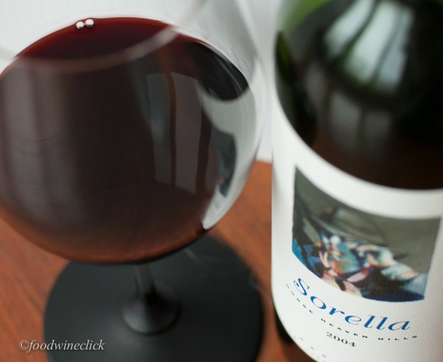 Andrew Will Sorella 2004 - a lovely Bordeaux style blend from Washington State
