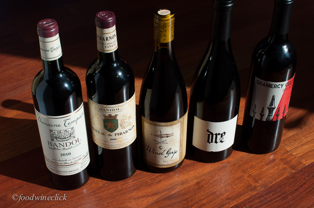 Our Mourvedre / Bandol lineup: a mix of old world and new