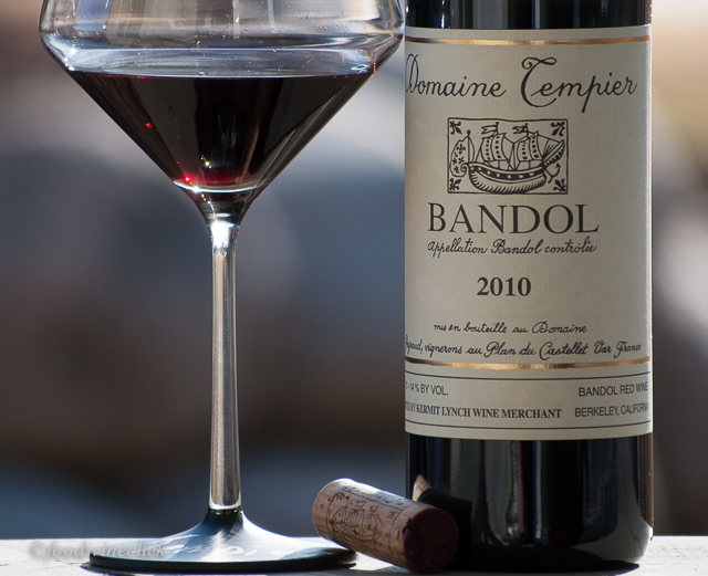 Domaine Tempier is the classic Bandol Rouge