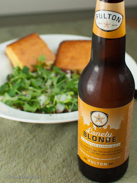 Meatless Monday Chili with Fulton Blonde - Wow!