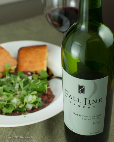 Fall Line Red Blend - Merlot is the #1 contributor