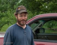 Brian McCormick farms the vineyard organically.