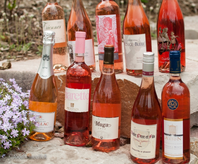 Our European Rosé contingent