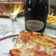 Alta Langhe is a DOC for sparkling wine - with your pizza of course!
