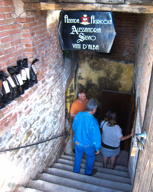 Let's tour the cellar, hand dug under the winemaker's home.