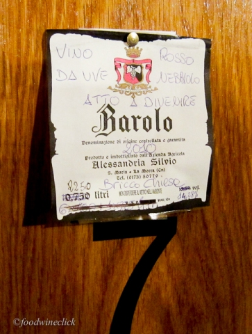 Barolo, one of the most famous wines of Italy