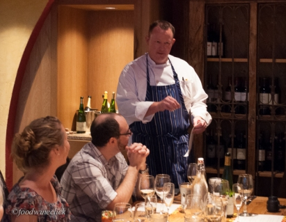 Chef Mike pulls out all the stops in wine dinners at Pairings!