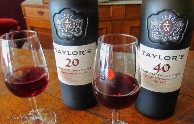 20 & 40 year Tawny ports