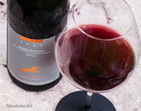 Ca' del Baio Barbaresco, a powerful wine yet enjoyable in the summer.