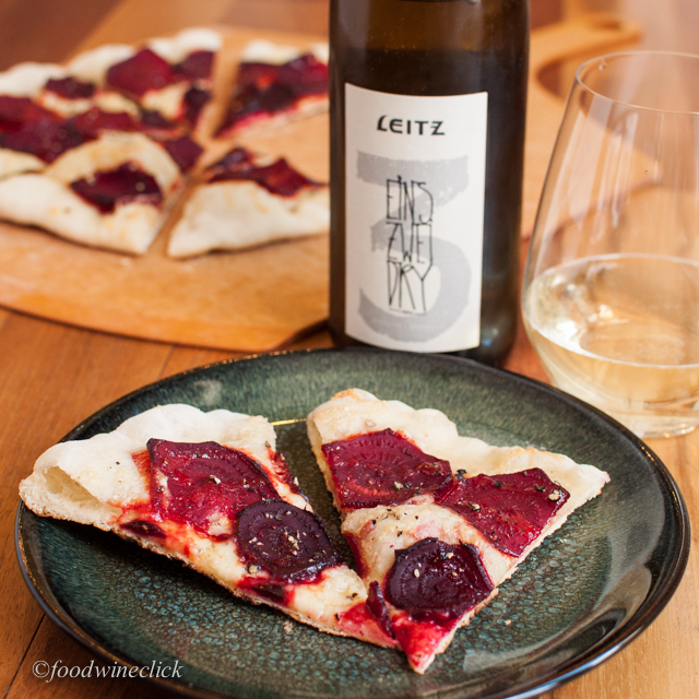Beets and Riesling - a surprise success