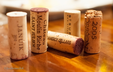Cabernet Day wine corks