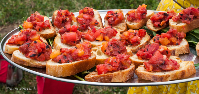 Roasted bruschetta