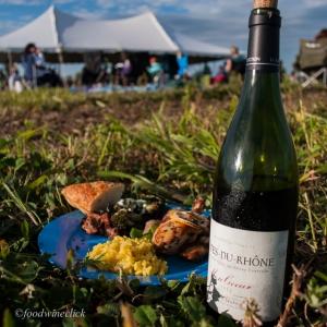 Chave Côtes du Rhône at a picnic