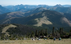 More lunchtime views near the Continental Divide