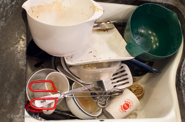 The dirty truth: a sink full of dishes