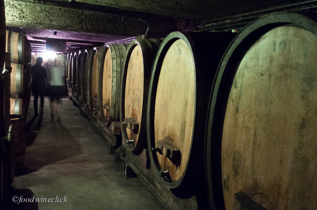Down into the cellars