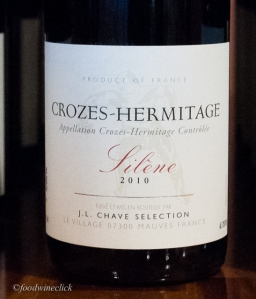 JL Chave selections Crozes-Hermitage Silene