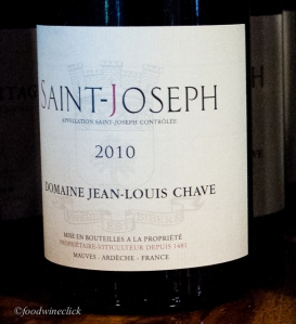 St. Joseph Rouge made from reclaimed hillside vineyards