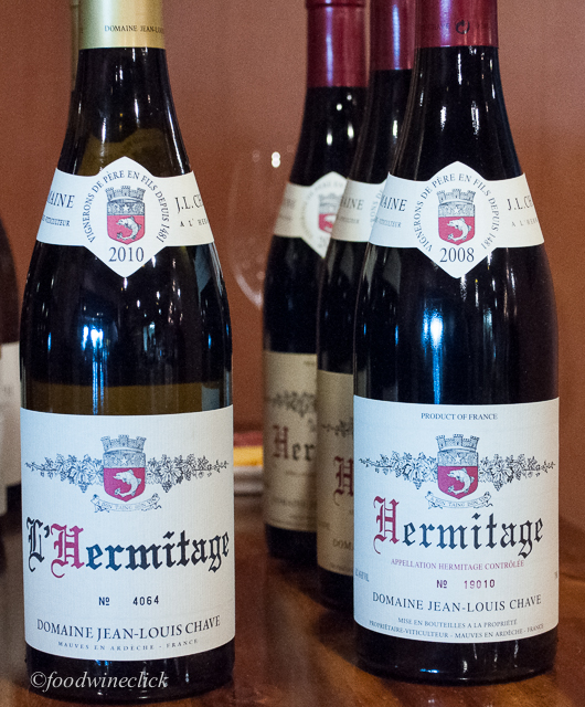 Legendary Domaine Jean-Louis Chave Hermitage Blanc and Rouge