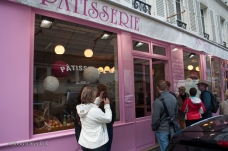 Patisserie: our first tasting stop.