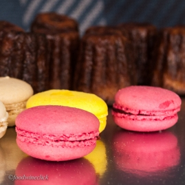 Macarons: sweet and pure flavor