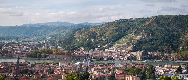 The St. Joseph appellation is on the other side of the Rhone