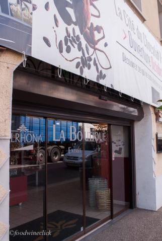 Valrhona Chocolate Factory Store!