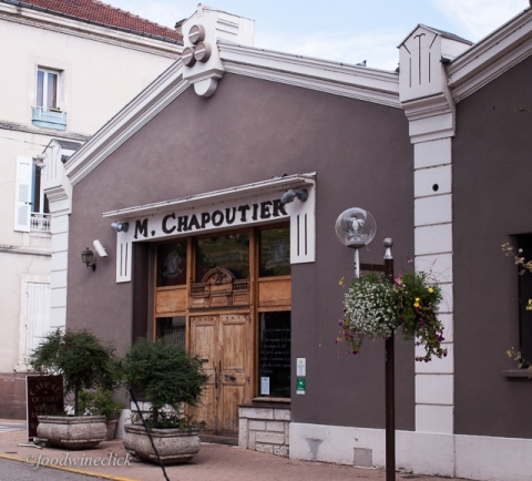 You can visit the Chapoutier tasting room