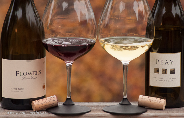 Comparing Pinot Noir and Viognier with Roast Chicken