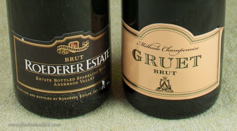 A couple of sparkling wine choices