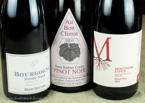 Pinot Noir in the New World, Bourgogne Rouge from France