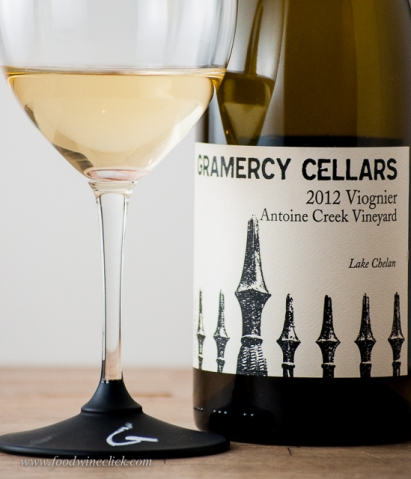 Brandon's Viognier: Gramercy Cellars' first white wine!