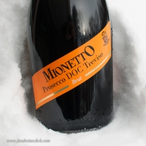 Prosecco - great for starting any party, a touch sweet. $16