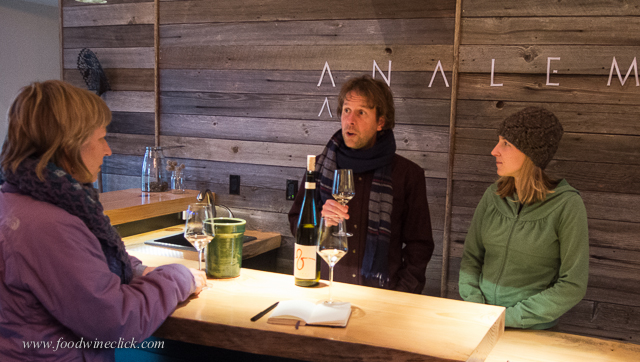 Meeting Steven Thompson and Kris Fade at their new winery